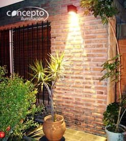 Luz para iluminar la fachada de tu casa navide amente - Iluminacion para jardines exteriores ...