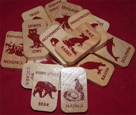 Animal Speak Runes : These are done by the author of the Animal Wise Tarot Ted Andrews