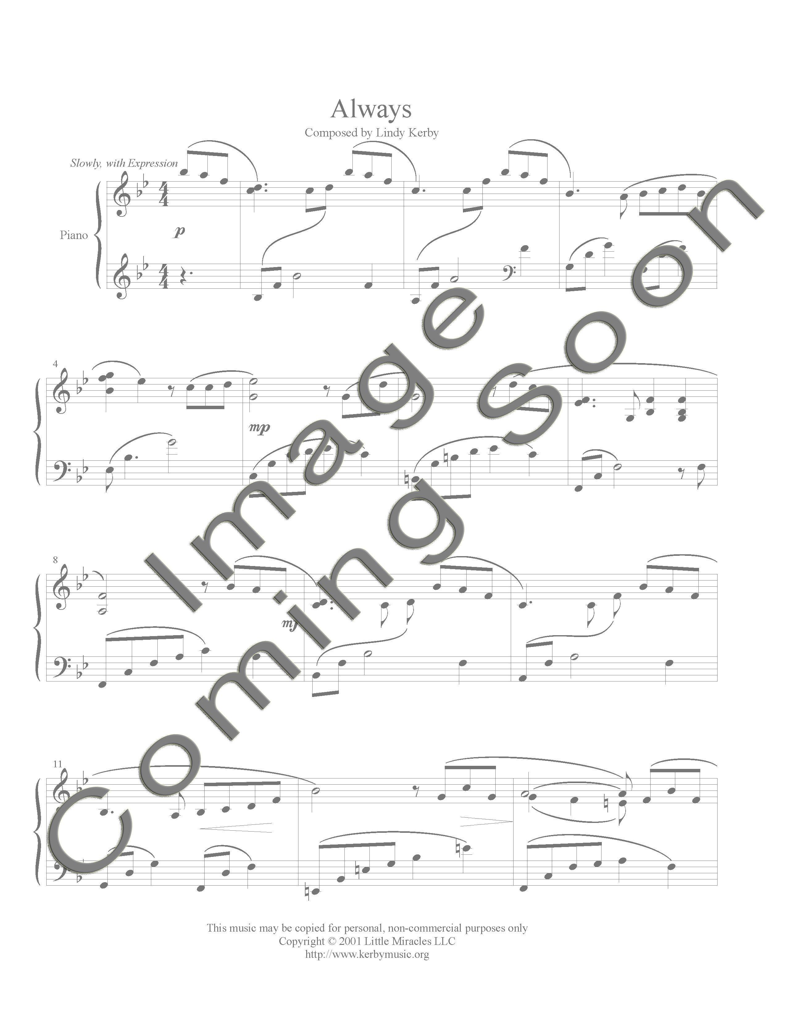 Pdf sheet music free choral