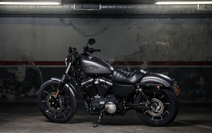 Download Wallpapers Harley Davidson Iron 883 2018 Bikes 4k