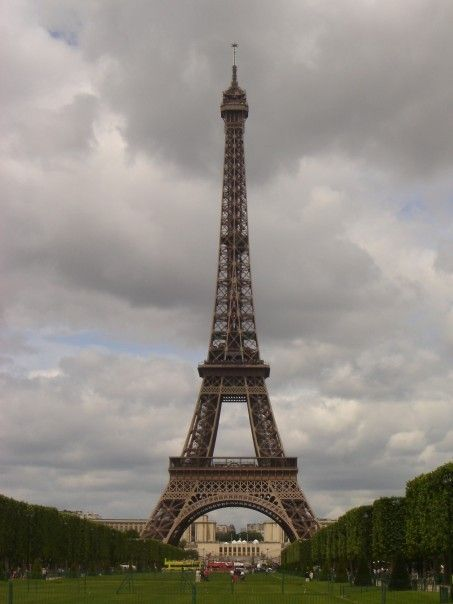 The Eiffel Tower! I took this pic when I studied abroad! places-i-ve-been
