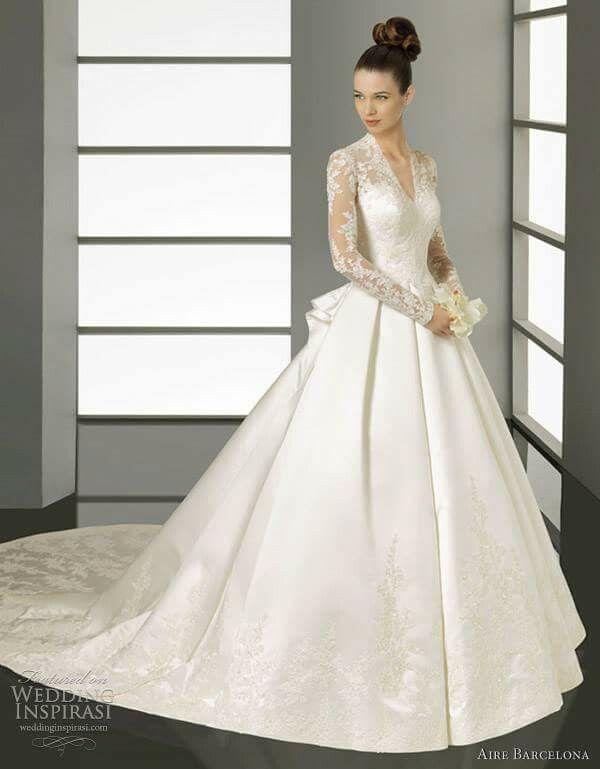 Pin by cheryl faddah on wedding   Pinterest   Wedding dress, Gowns ...