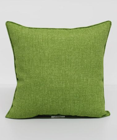 Carsten Kiwi Square Throw Pillow #zulily #zulilyfinds