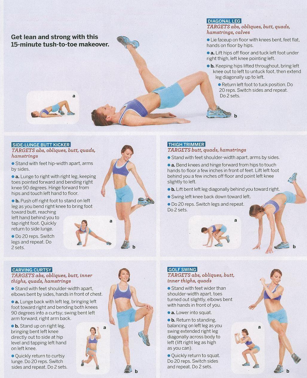 Leg Butt Exercises 88