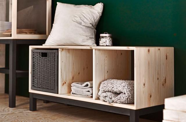 Panca Contenitore Ikea : Panca in legno ikea con contenitori entrata mobili ikea ikea