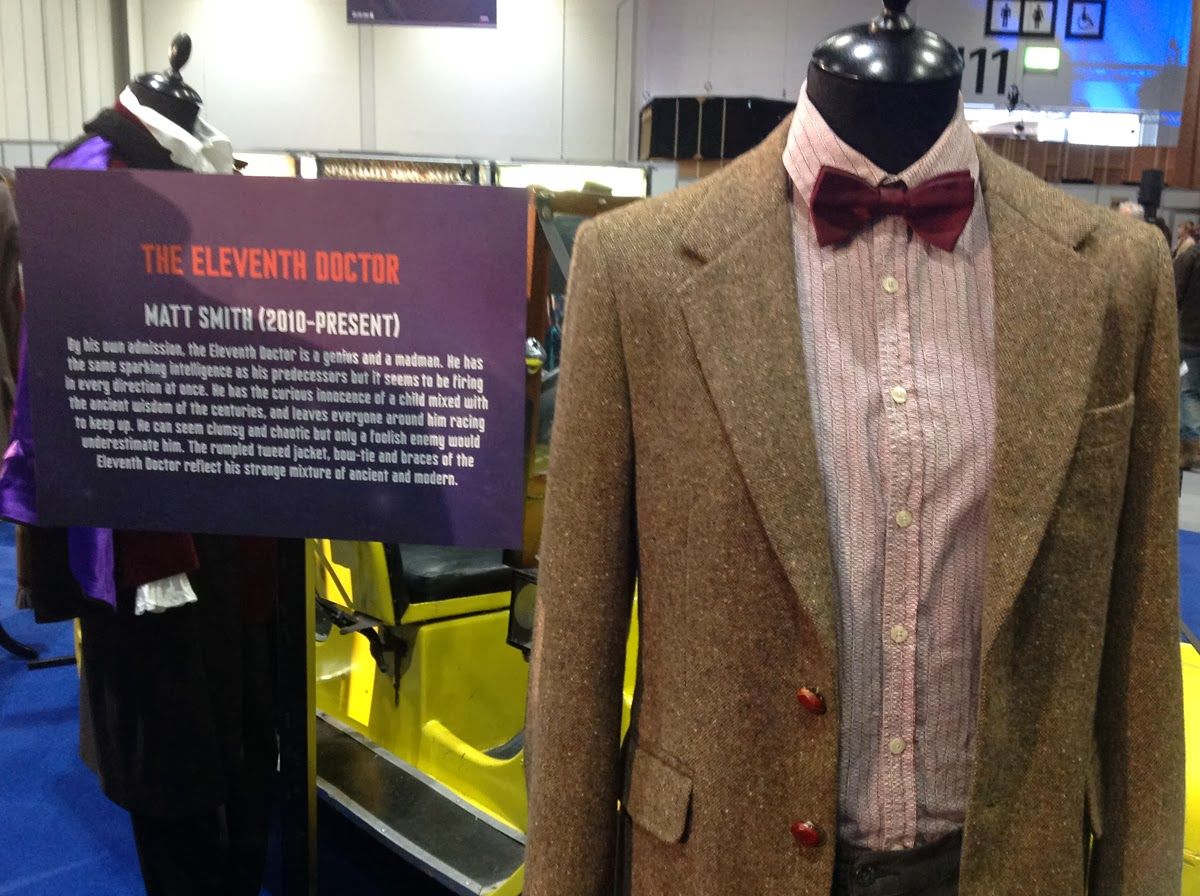 Eleventh doctor 39 s fifth season donegal tweed jacket paul for Paul smith doctor who shirt