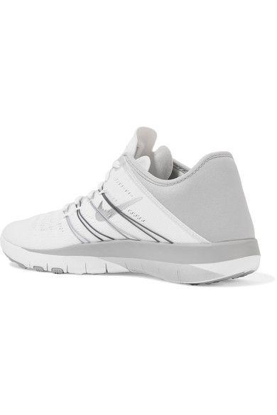 5d1a2898b74e Nike - Free Tr 6 Mesh And Neoprene Sneakers - White