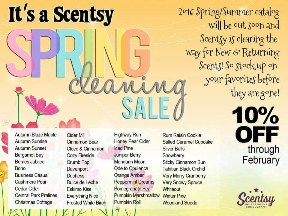 Look what's leaving at the end of the month! Are your favorites on there? Let me help you get them while they're still here! www.mgolden.scentsy.us