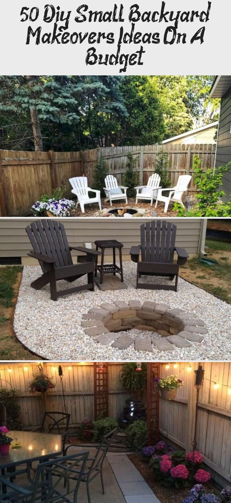 50 Diy Small Backyard Makeovers Ideas On A Budget 50 DIY ...