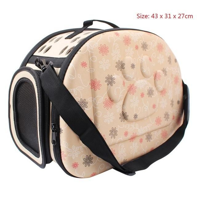 Type  Dogs Style  Fashion Pattern  Floral Fitable Weight  for small dog  cats Brand Name  KIMHOME PET Item Type  Slings Applicable Dog Breed  Small  Dog ... 8f924e2627
