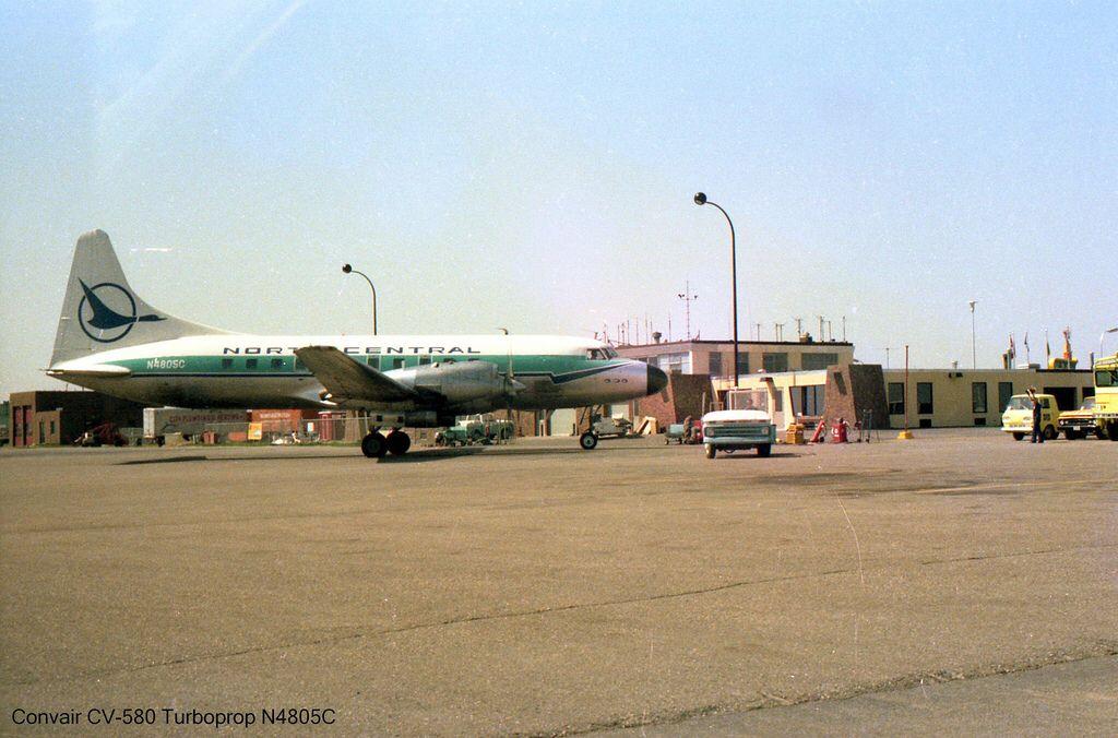 North Central Airlines Convair CV580 N4805C Northwest