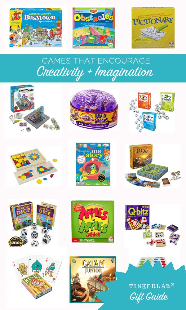 Games That Encourage Creativity And Imagination Gift Guides