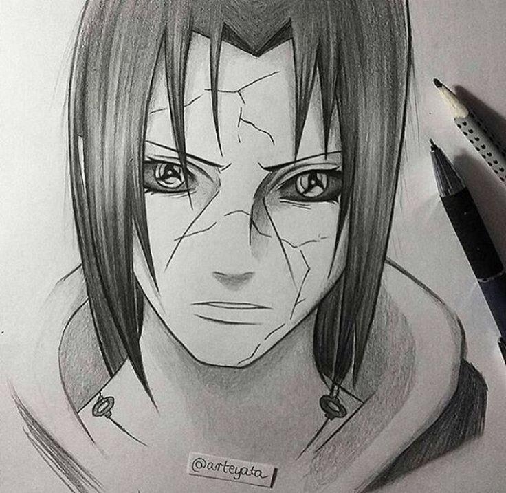 Itachi With Images Naruto Sketch Naruto Drawings Naruto Fan Art