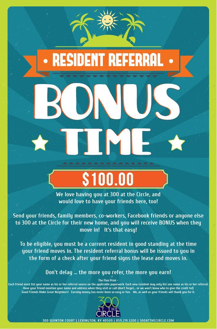 300atc resident referral flyer