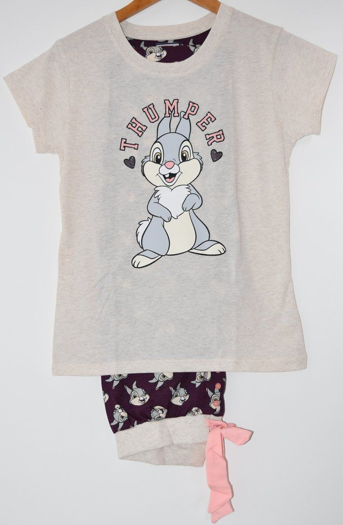 184212998bad PRIMARK PJ Disney Thumper Pyjamas Bambi Boxed NEW UK Size 6 - 20 ...