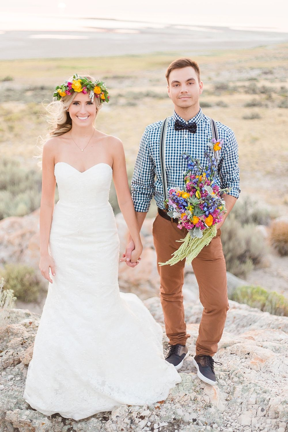 Makinzee + Alex | Kira Lynn Wagner | AK Studio & Design | Utah Wedding Photography | Bride & Groom Session | Antelope Island | Utah Bride | Wedding Inspiration