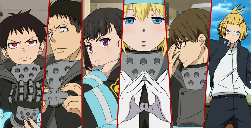 Fire Force Characters If you have your own one, just send us the image and we will show. fire force characters