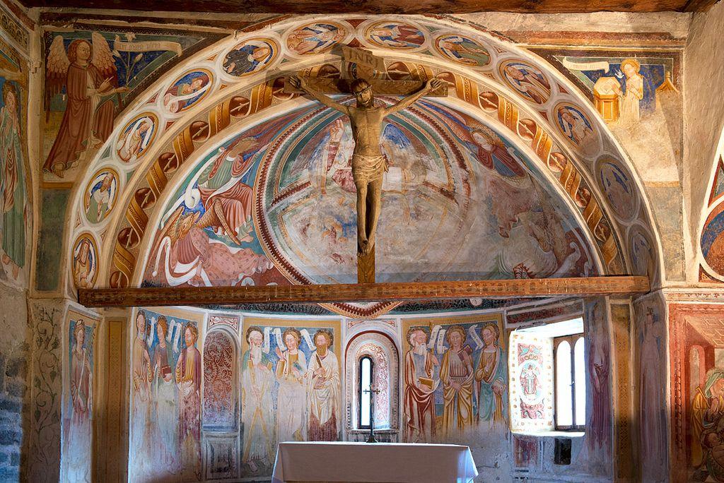 Negrentino, Val di Blenio, CH. Chiesa di San Carlo