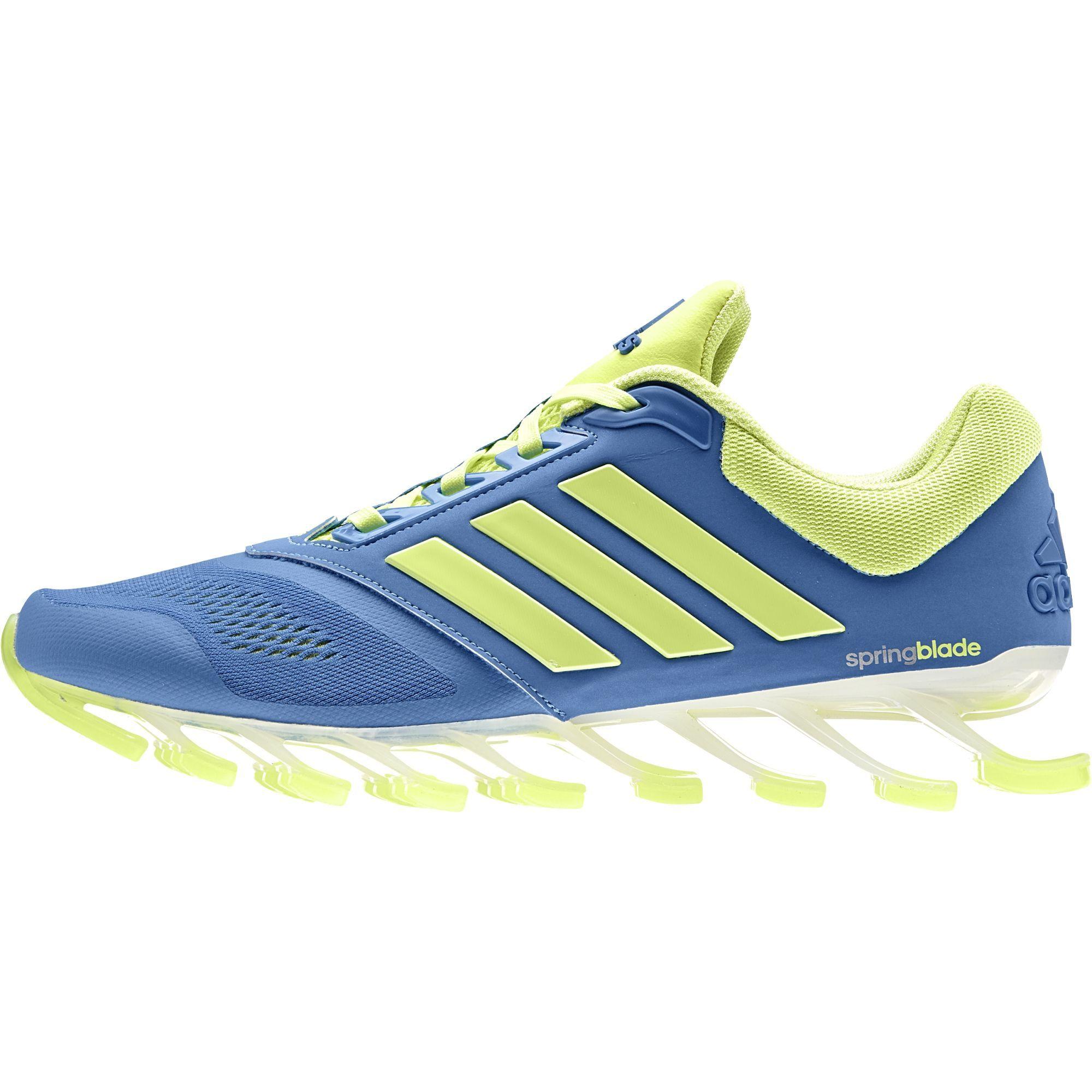 Mens Adidas Springblade Drive Running Shoe Royal Navy M