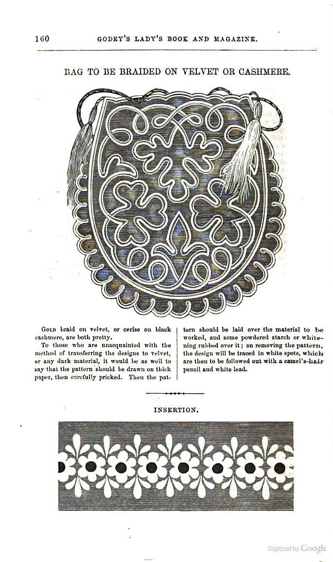 Godey\'s Magazine - Google Books | PATRONES DE BORDADOS ANTIGUOS ...