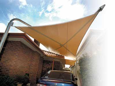 Stylish Carport Alternative Carport Shade Exterior Shades Shade Sail