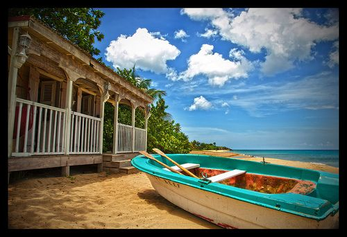 Di Poole S Bungalow On The Beach Which He Shares With Harry The Lizard Ew Death In Paradise Beach Shack Caribbean Beaches