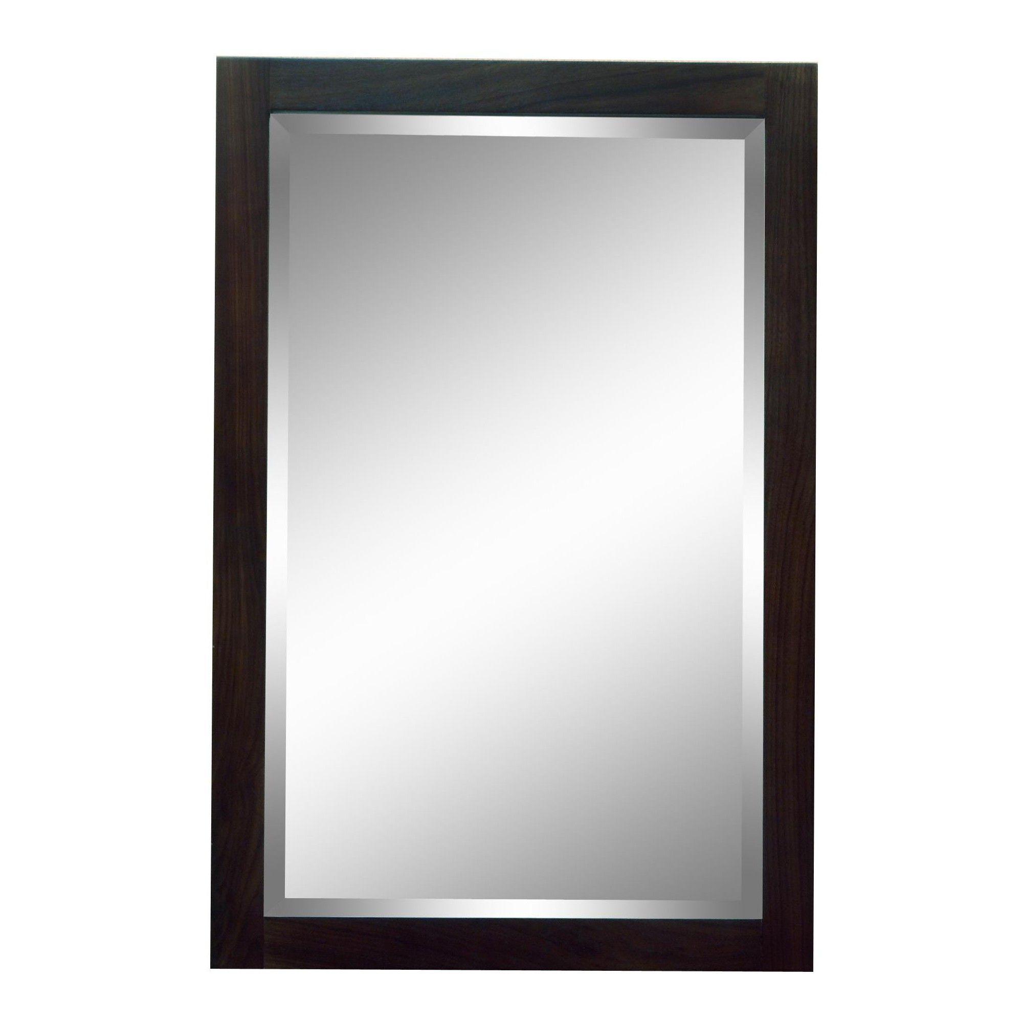 Sagehill Designs Mt2436m Modesta Walnut 24 Single Door Mirrored Cabinet Walnut No Finish Surface Mount Medicine Cabinet Mirror Cabinets Medicine Cabinet