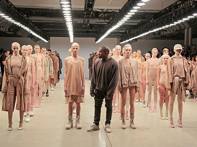 Gallery Of Fame Look At Me Art Work Yeezy Fashion Show Kanye West Style Kanye Fashion