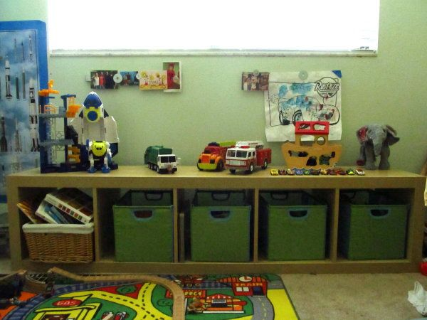 toy storage bench - Kids Room Storage Bench