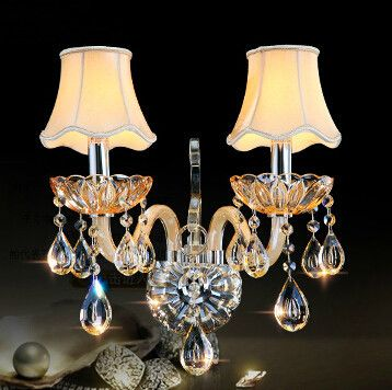 Cheap k9 car, Buy Quality k9 lamp directly from China sconce lamp Suppliers:  Modern Luxury European style K9 champagne crystal wall lamp living room bedroom bedside wall sconces       Modern