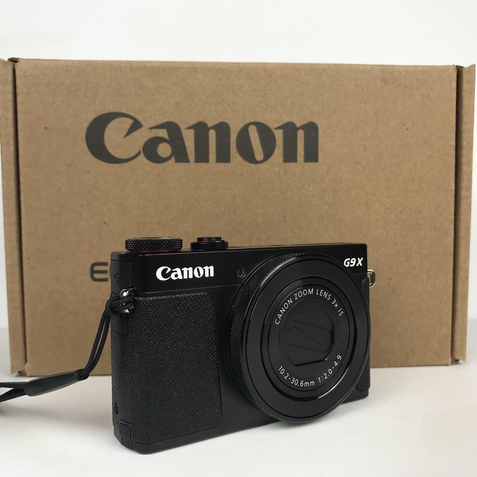 Harga Dan Spek Canon Powershot G9 X Mark Ii Digital Camera Silver Police 14544jsb 02 Merah 201mp Black With Deluxe Carrying Case