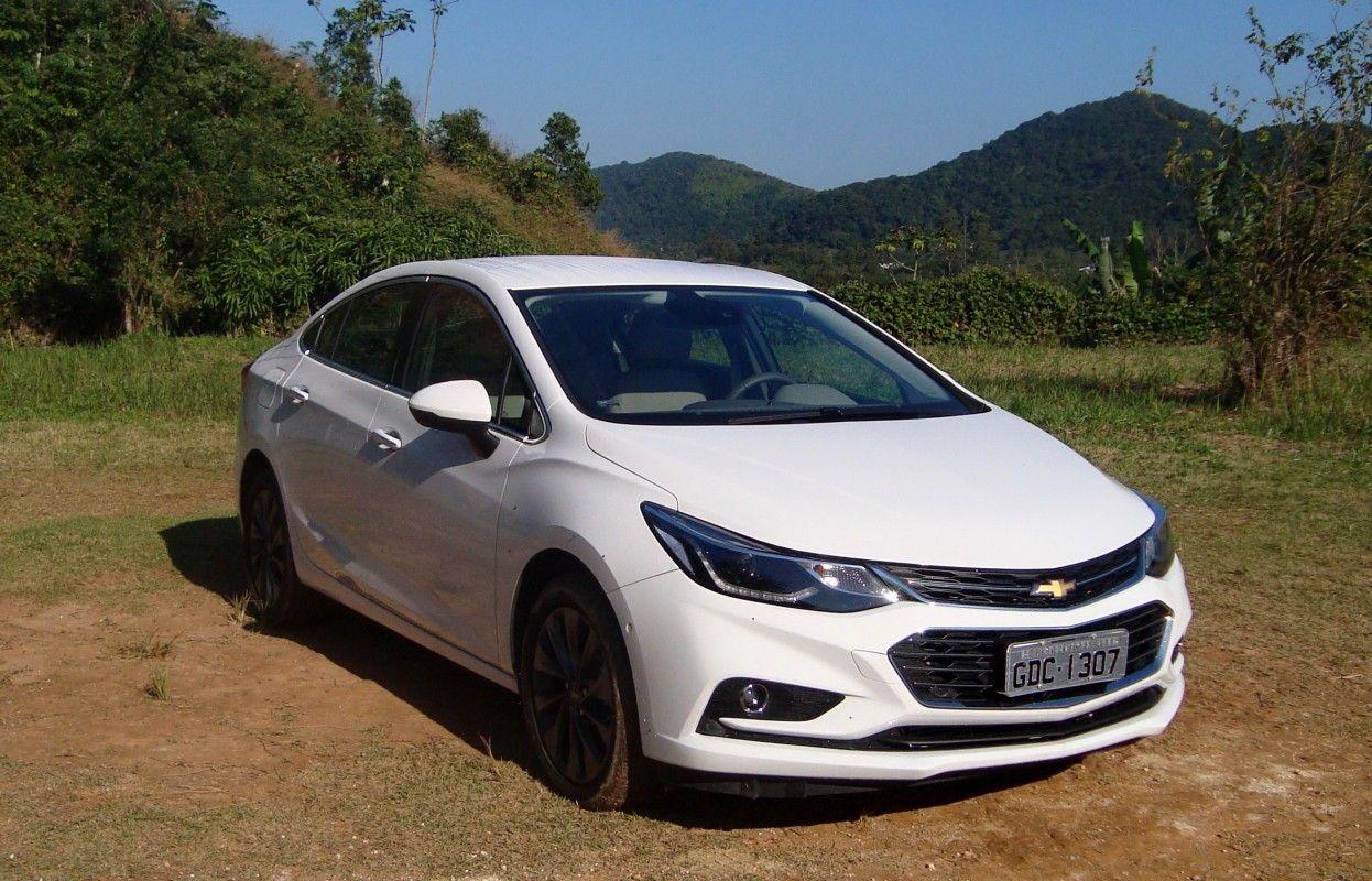 Novo Chevrolet Cruze Ltz 2017 No Uso