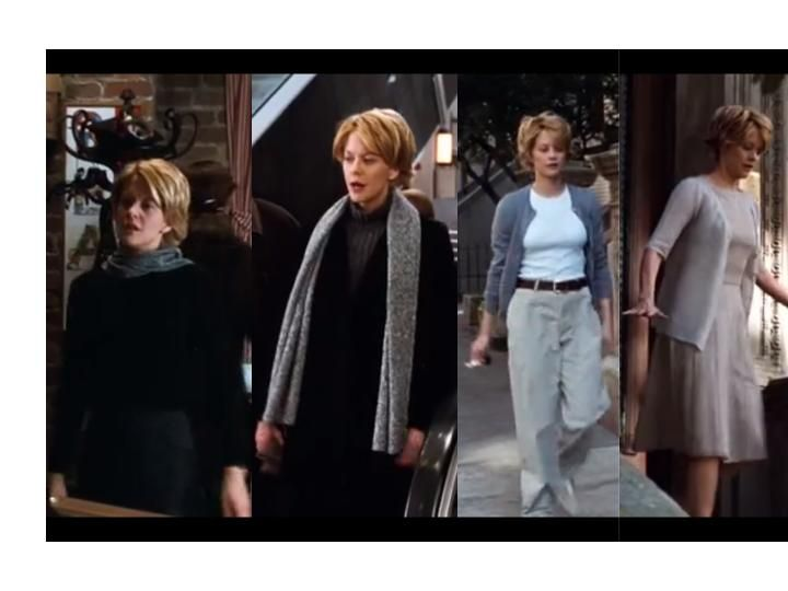 Meg Ryan As Kathleen Kelly In You Ve Got Mail 1998 Student Fashion Fashion Tv Style Muse