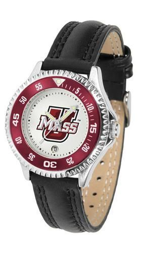 University of Massachusetts UMass Women's Leather Sports Watch