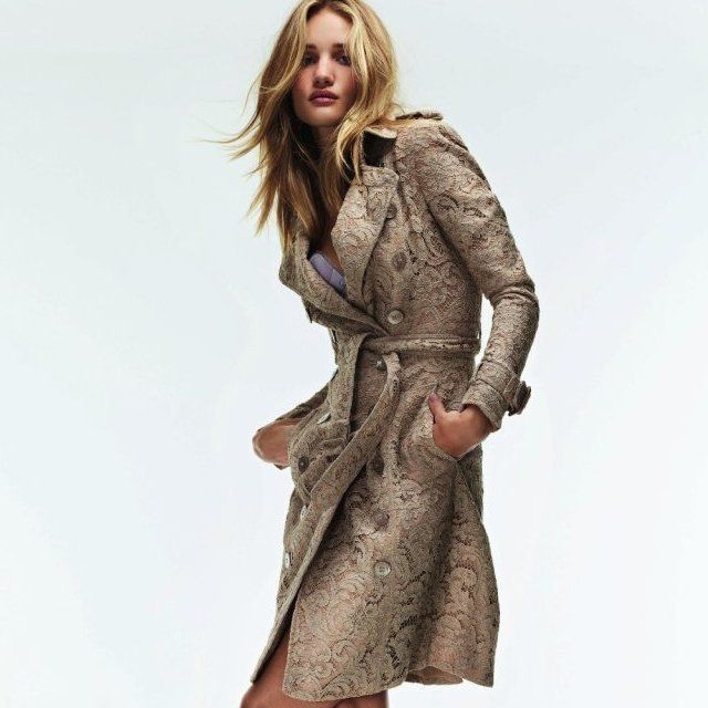Fancy - Lace Trench by Burberry - l o v e
