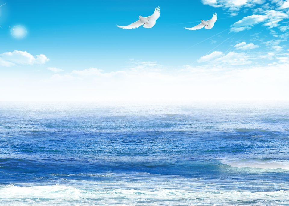 Fresh Blue Sky And Sea Background In 2019 Light Background