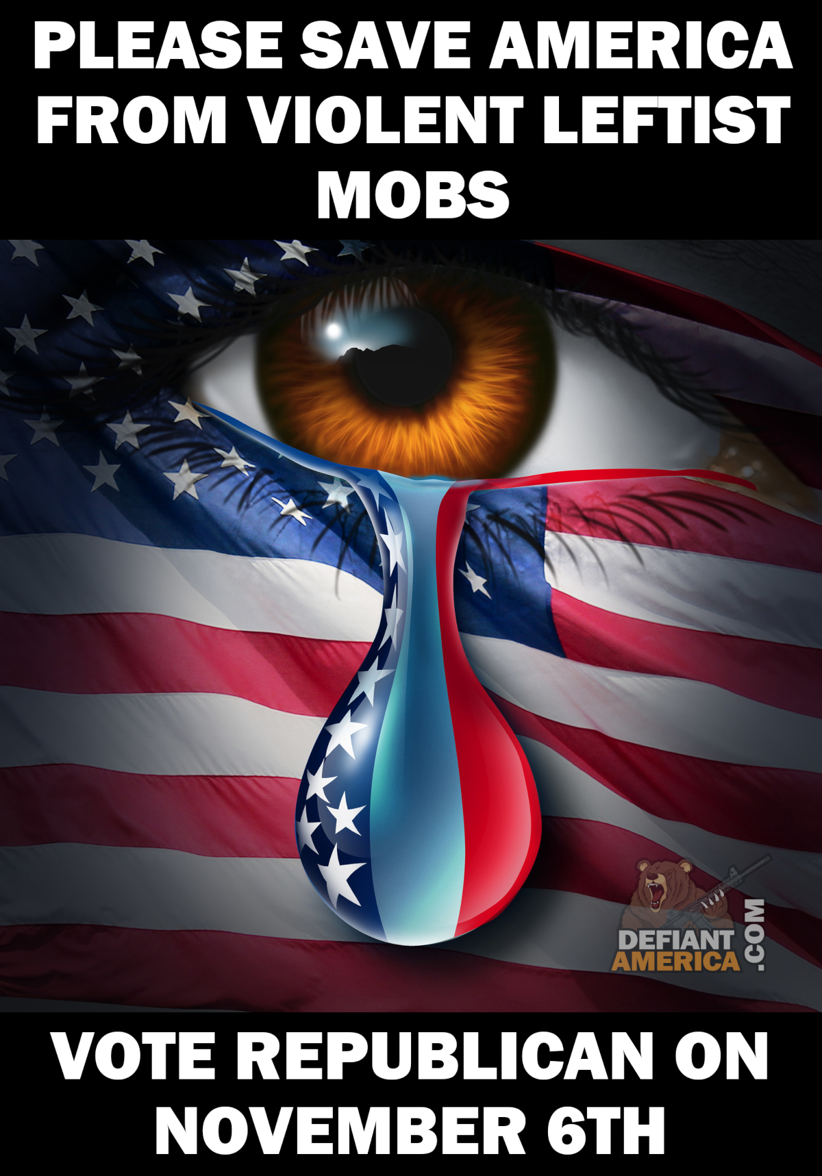 Vote for Jobs not Mobs on November 6th! Praying for our
