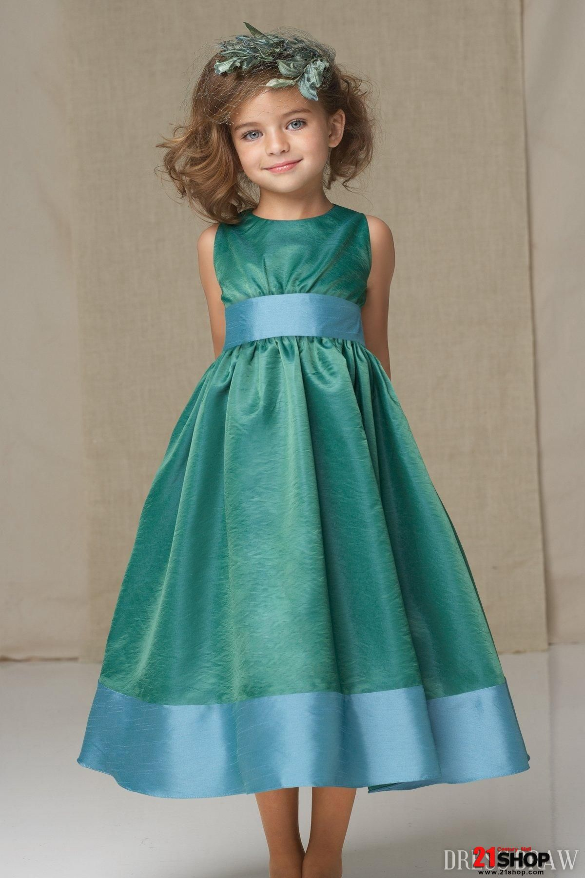 Flower girl dress not a huge fan of the colors as much as the style