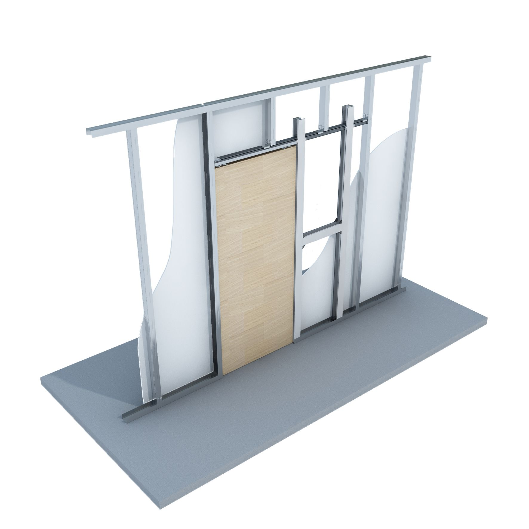 It S Unpack And Go With The New Knauf Sliding Door Kit Sliding