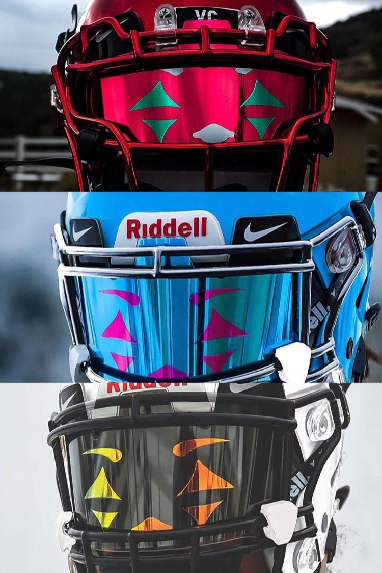 Joker Football Visors 5 Star Nike Custom Visors Proudly Made In The Usa Cool Football Helmets Football Helmet Design Football Accessories
