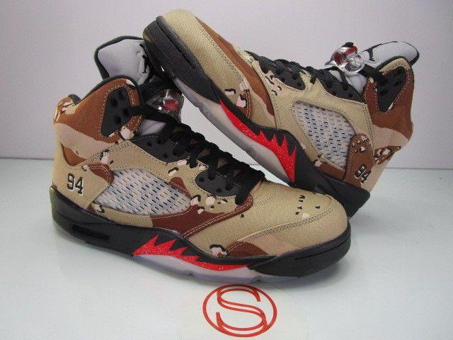 quality design 26677 b8fc0 Nike Air Jordan V 5 Retro CAMO SUPREME 9