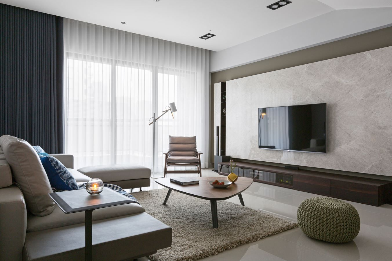 Fresh And Elegant Residential In Taiwan Picture Gallery