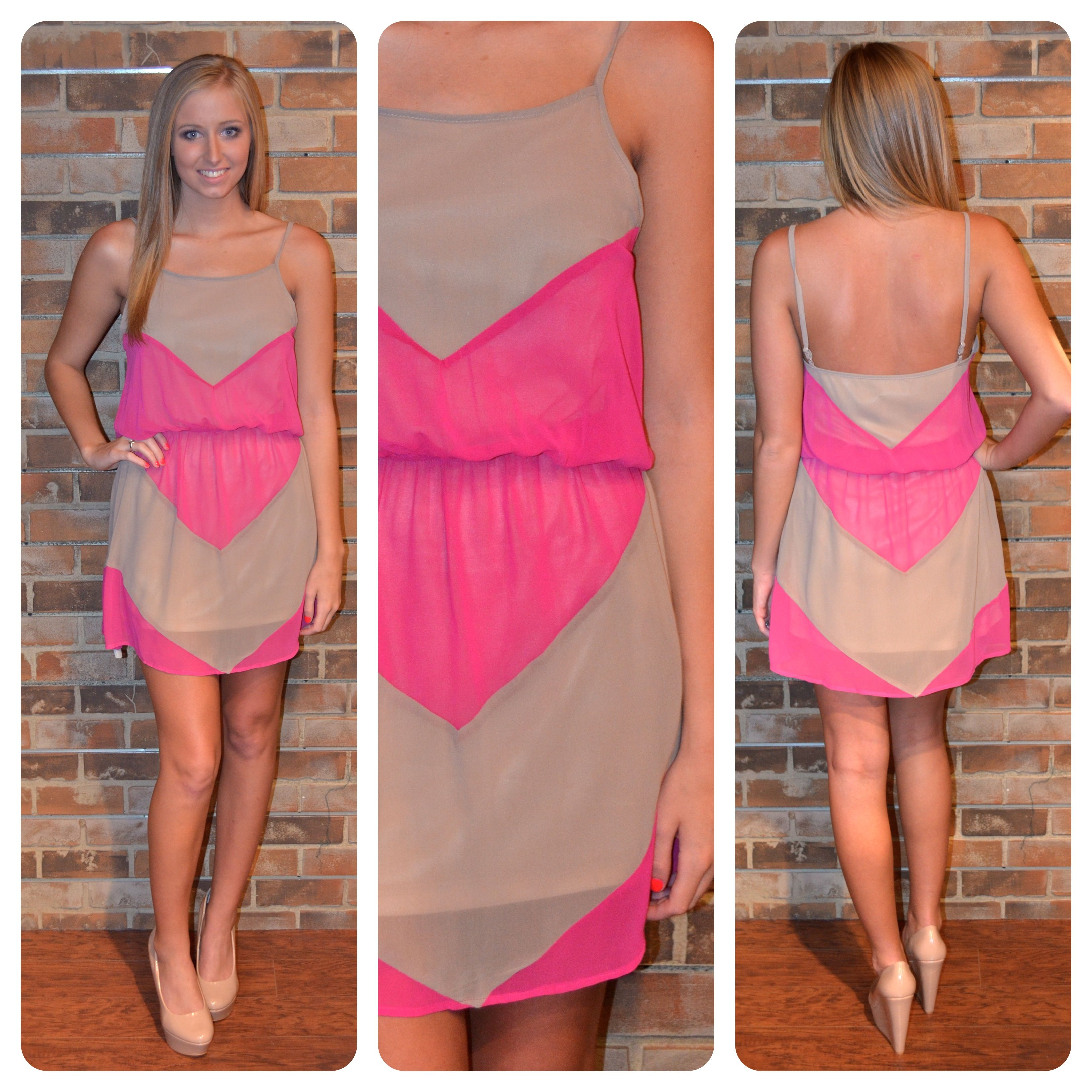 Pink dress in store  Available in store  Estilo  Pinterest  Store Dream closets and