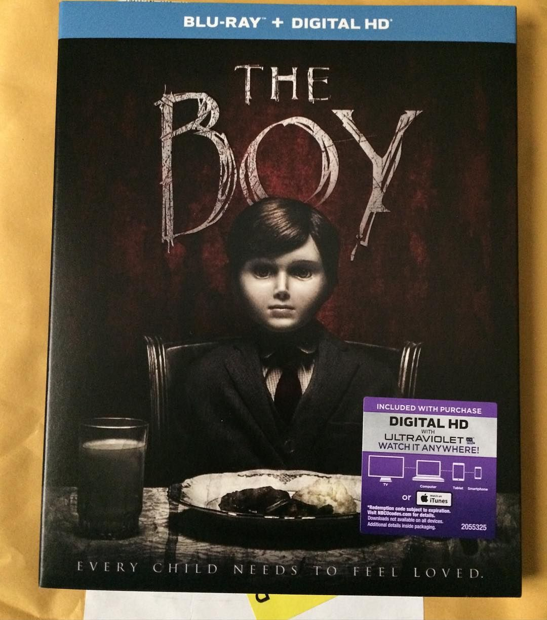 "Mail Call! TheBoyMovie on BluRay. ""The Boy"" is"