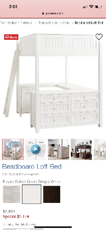 Pottery Barn Loft Bed Full Size With Images Loft Bed Barn