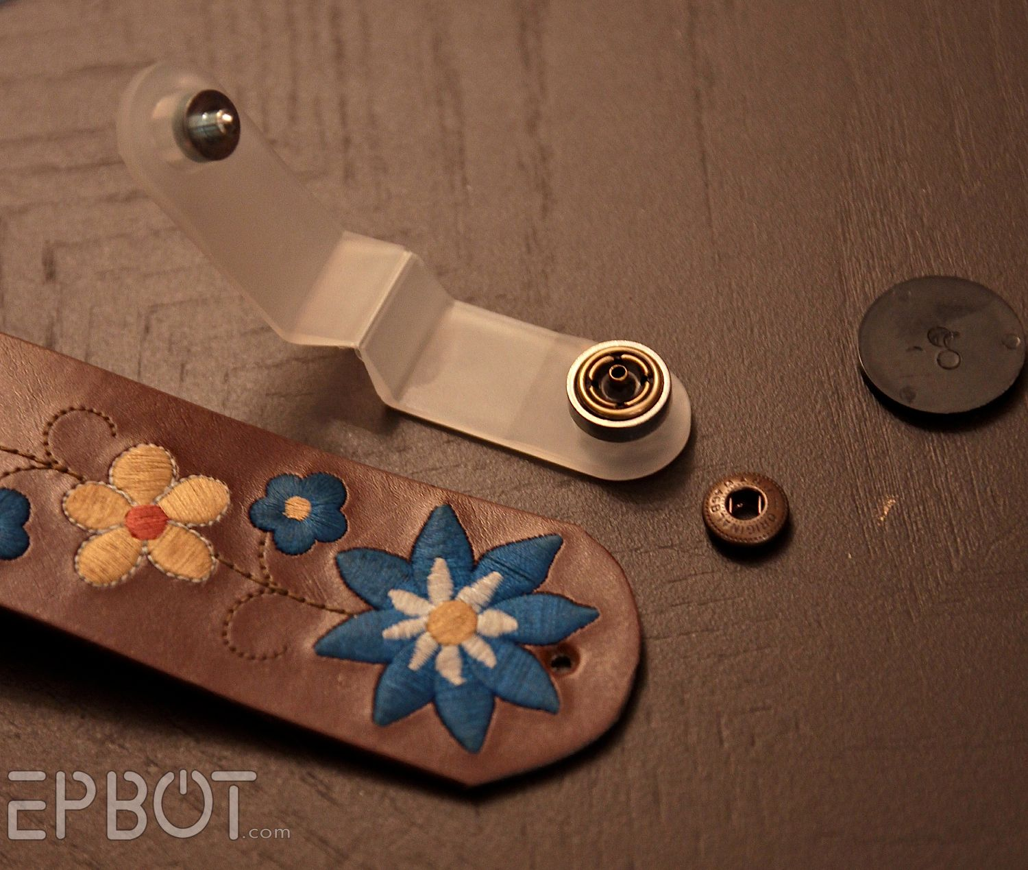 Epbot quick craft easy leather cuffs plus a give away for Quick craft