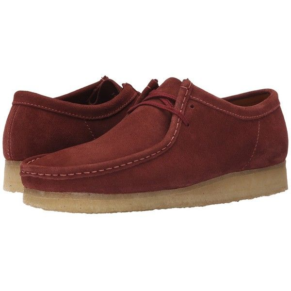 00b579308 Clarks Wallabee (Terracotta) Men s Lace up casual Shoes ( 135) ❤ liked on