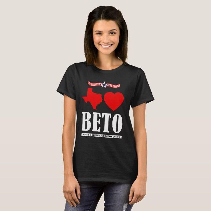 Texas Loves Beto Shirt Beto O'Rourke Senate 2018 Custom #christmas #womensfashion #xmas #womensclothing
