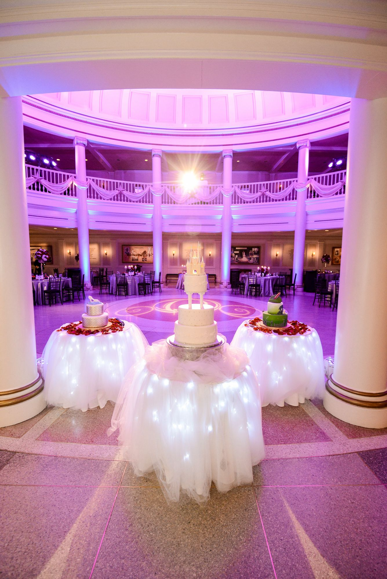 Why Have One Walt Disney World Wedding Cake When You Can Three