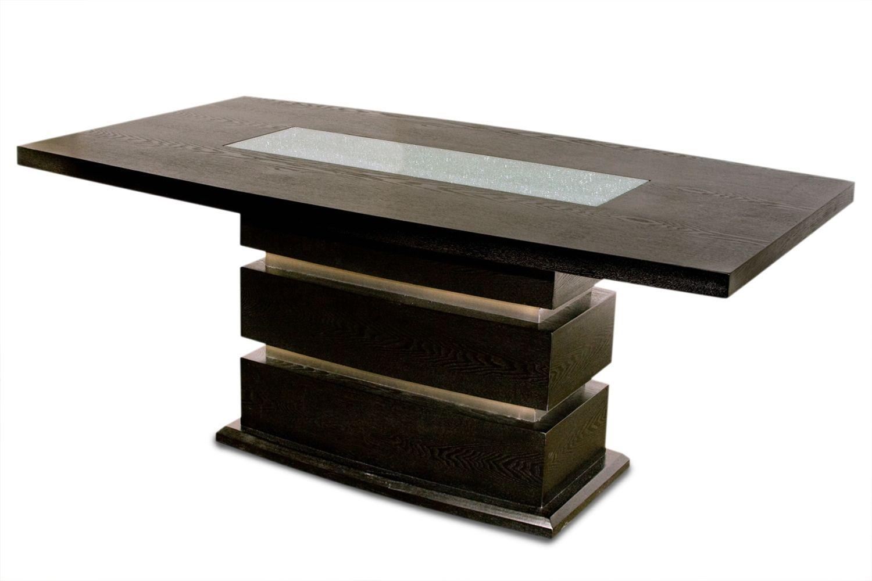 Modern Pedestal Dining Table Rectangular Google Search Pedestal Dining Room Table Rectangular Dining Room Table Pedestal Dining Table